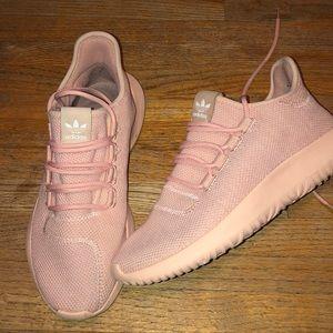 Pink tubular adidas